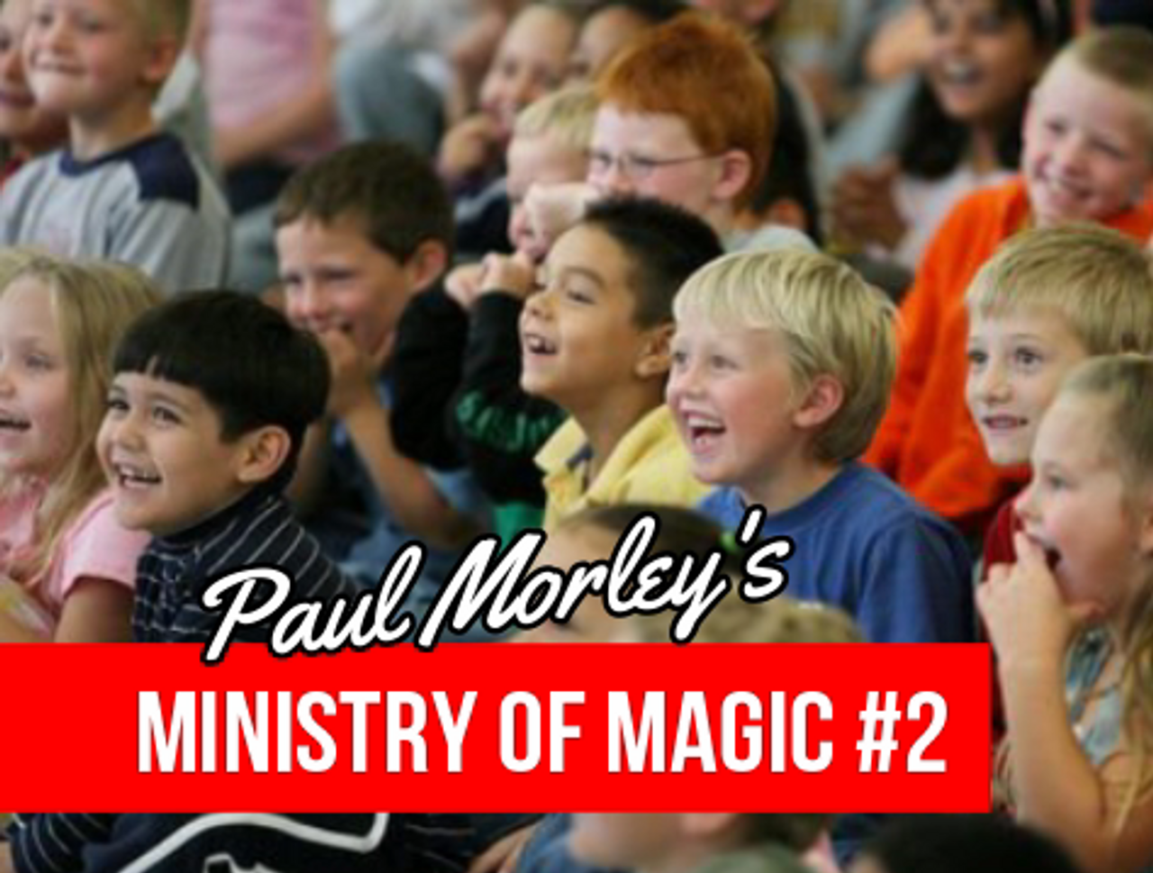 Paul Morley Gospel Magic Tricks Lessons Church Children