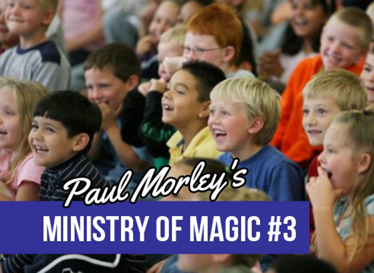 Paul Morley Gospel Magic Tricks Lessons Church Children