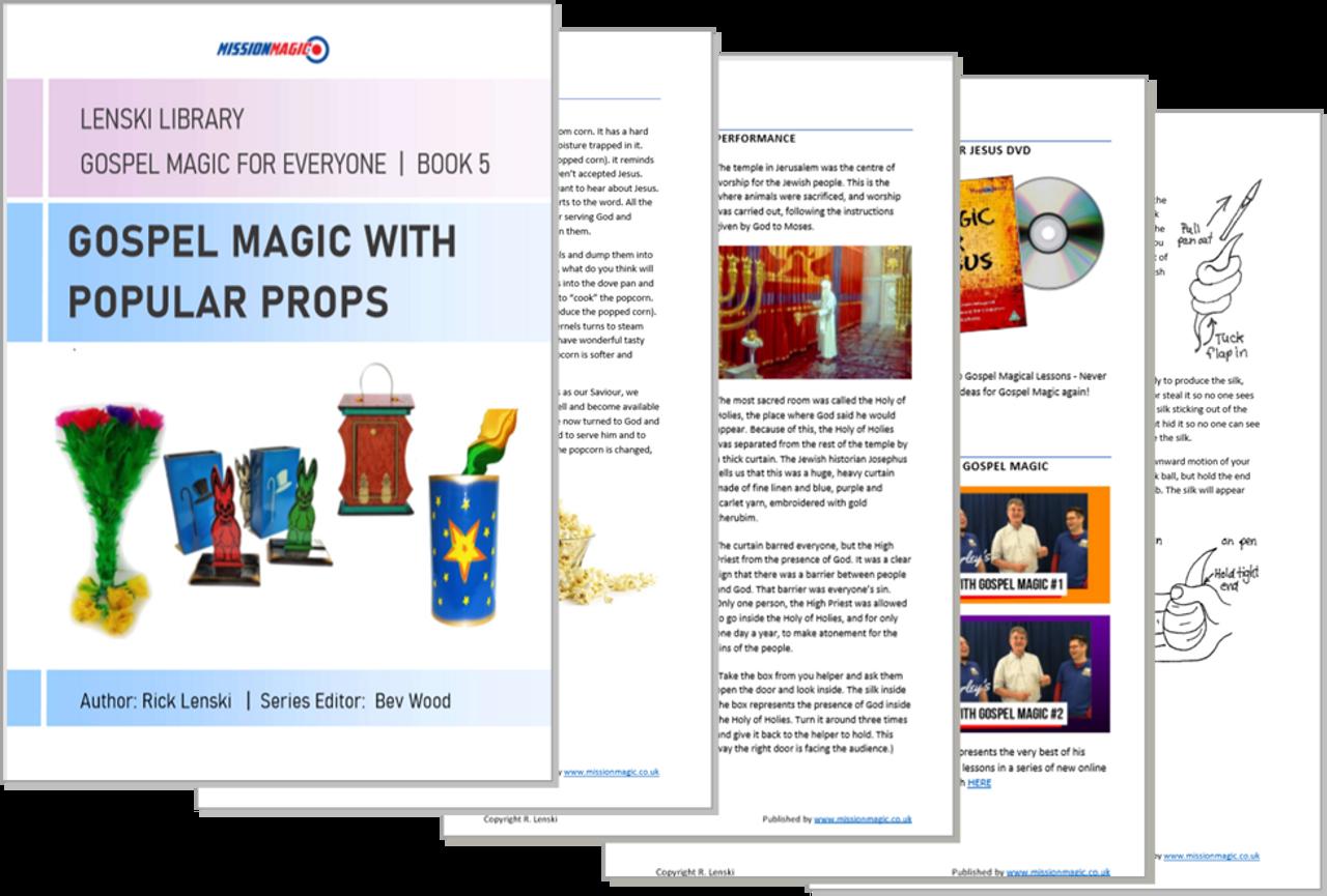 Gospel Magic with Popular Props - Tricks Children Church School