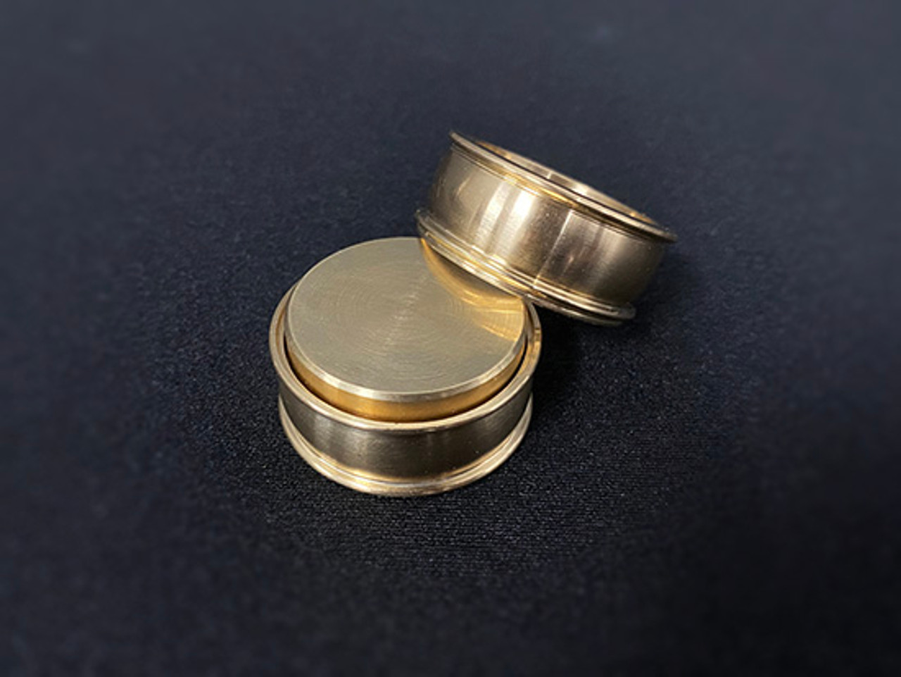 Coin Squeeze Brass Magic Trick Coin Pocket Gospel