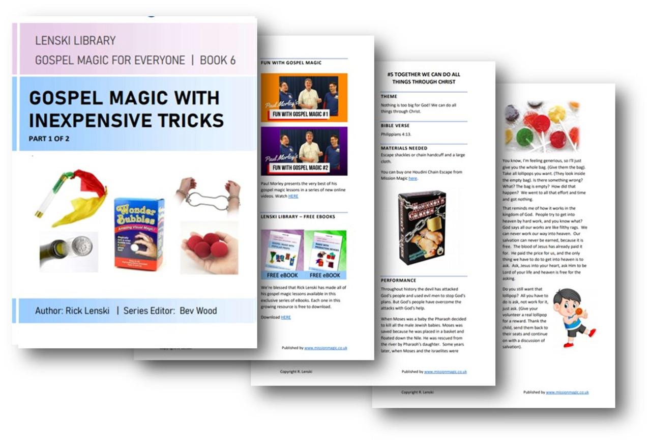 Gospel Magic with Inexpensive Tricks - Tricks Children Church Schoo