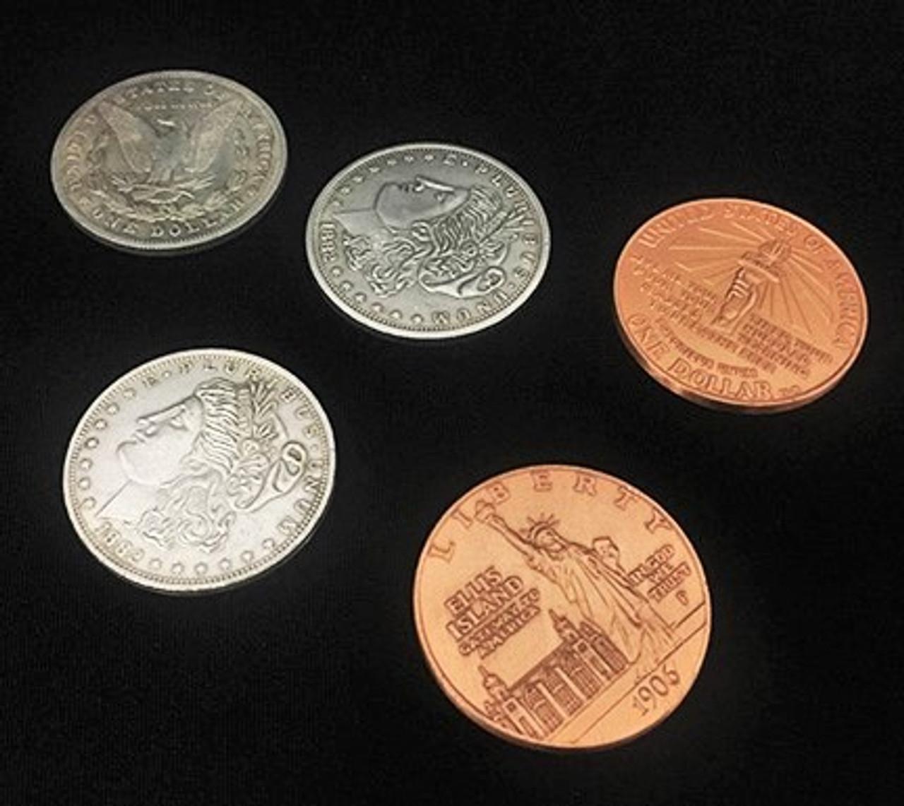 Hopping Morgan Coin Magic Trick Gospel Oliver