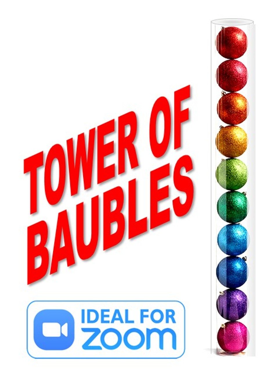 Tower of Baubles Christmas Magic Trick Gospel