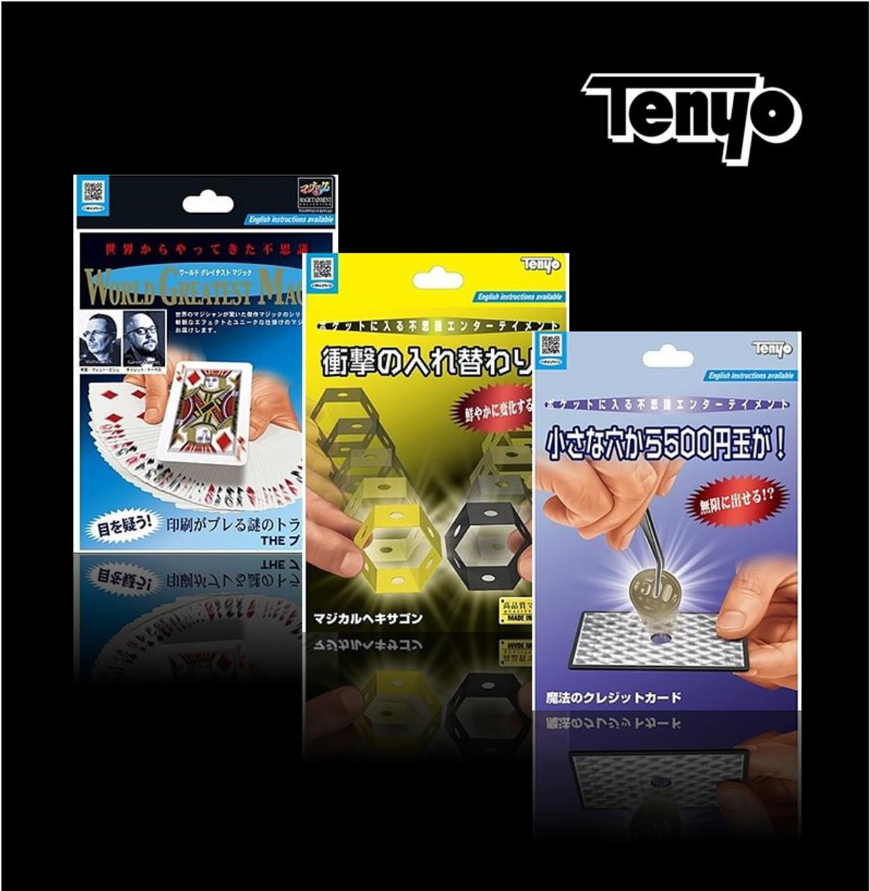 Tenyo 2021 Range - The Blur - Honeycomb - Tweezers Magic Tricks