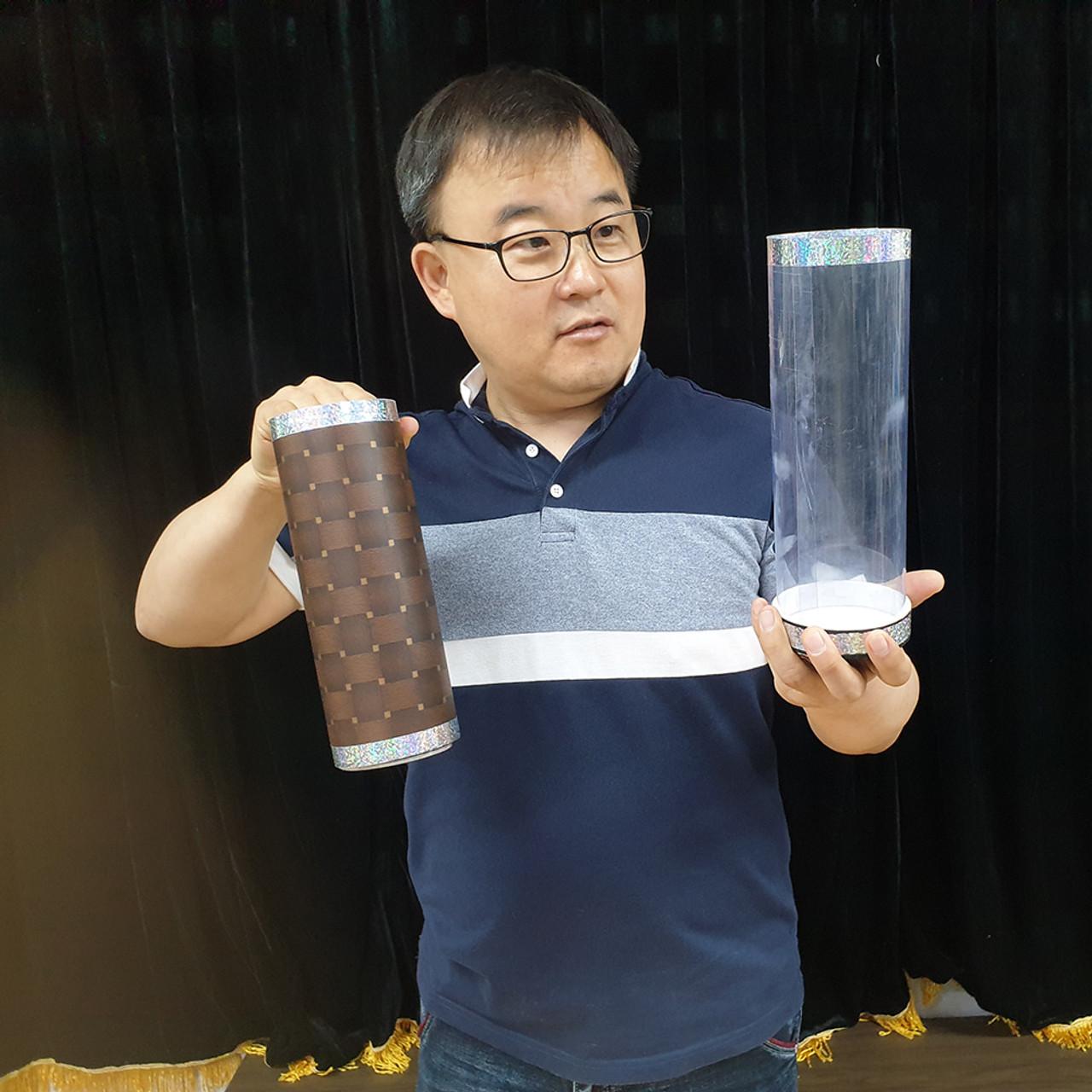 Crysal Tube Gospel Magic Trick Silk Cylinder