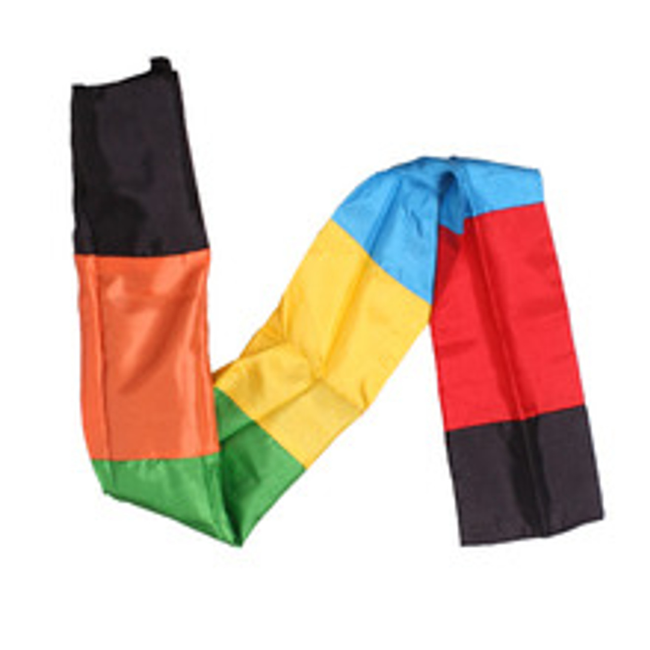 NEW - Colour Changing Scarf - Value - Black Scarf Becomes a Rainbow of Colours - God Keeps His Promises