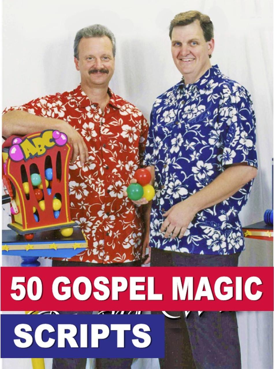 50 Gospel Magic Scripts Oz & Wilde