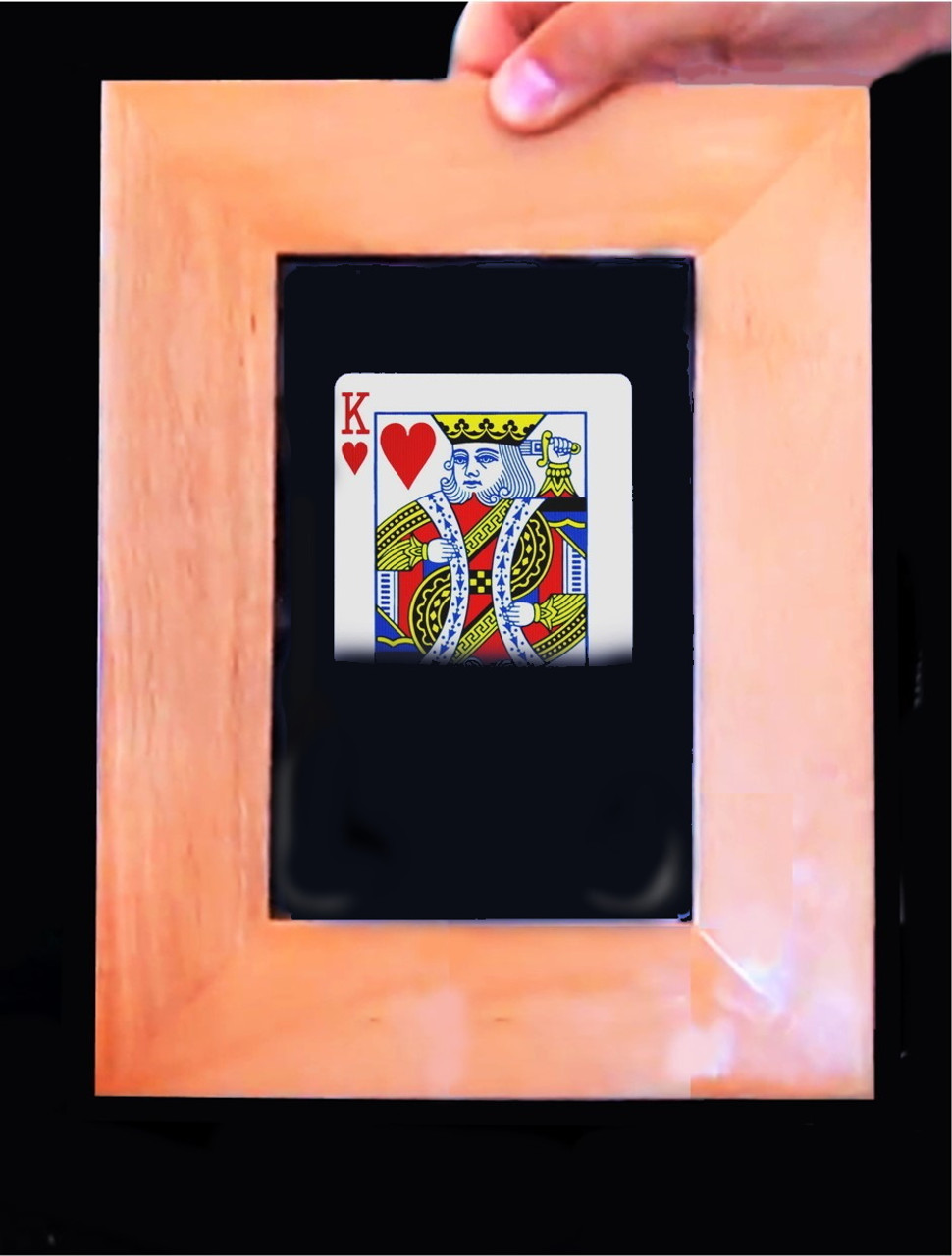 Card Frame Jumbo Card Trick Gospel Magic