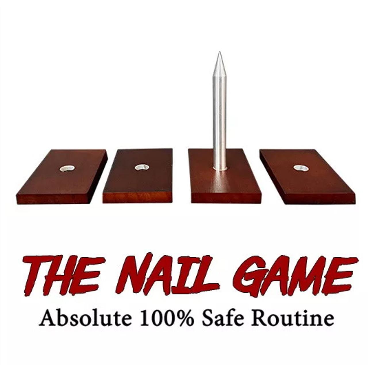 The Nail Game 100% Safe Magic Trick