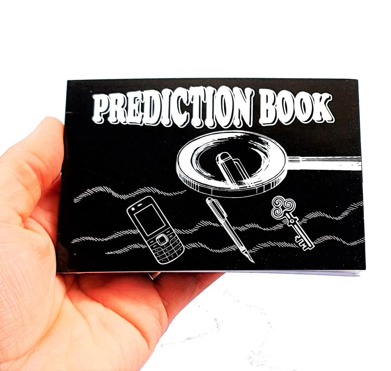 PREDICTION BOOK 2.0 magic trick gospel mentalism mind