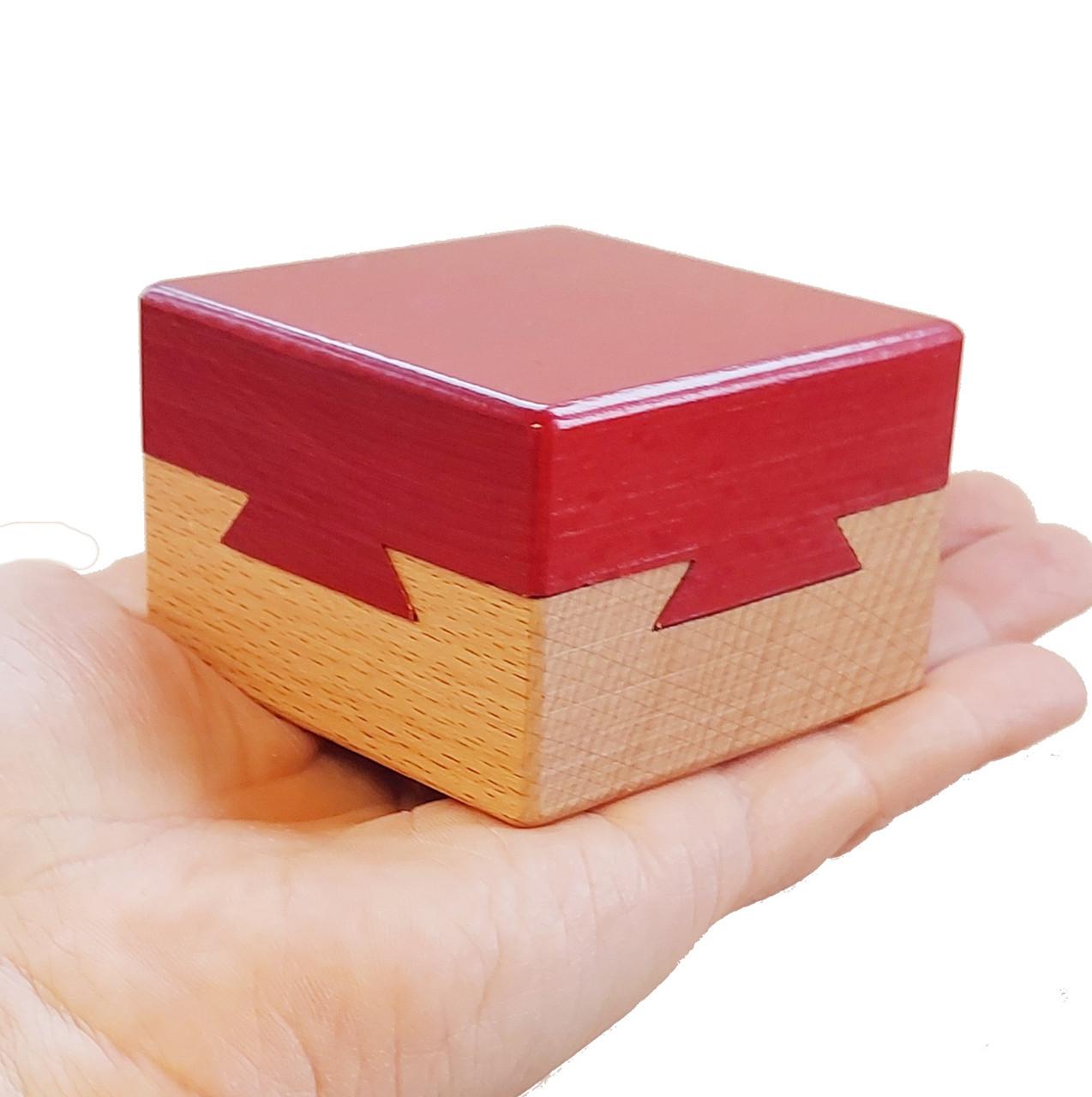 Impossible Dove Tail Box Magic Trick Puzzle