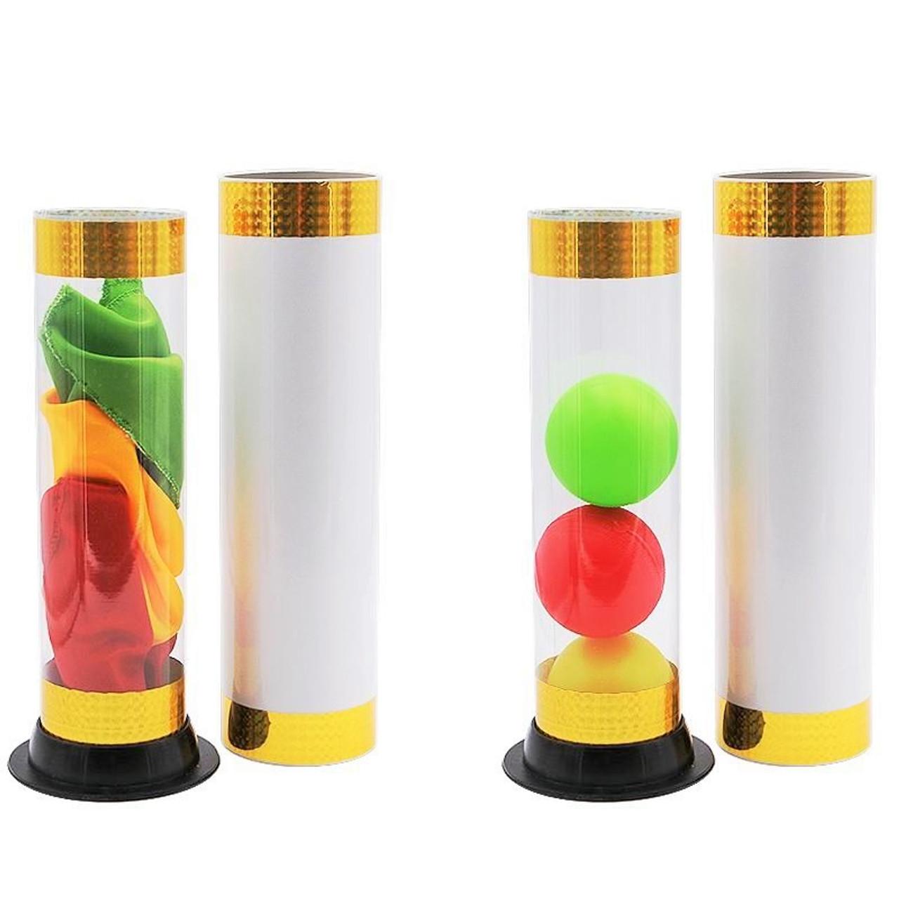 Crystal Silk Cylinder Magic Trick Difatta Gospel