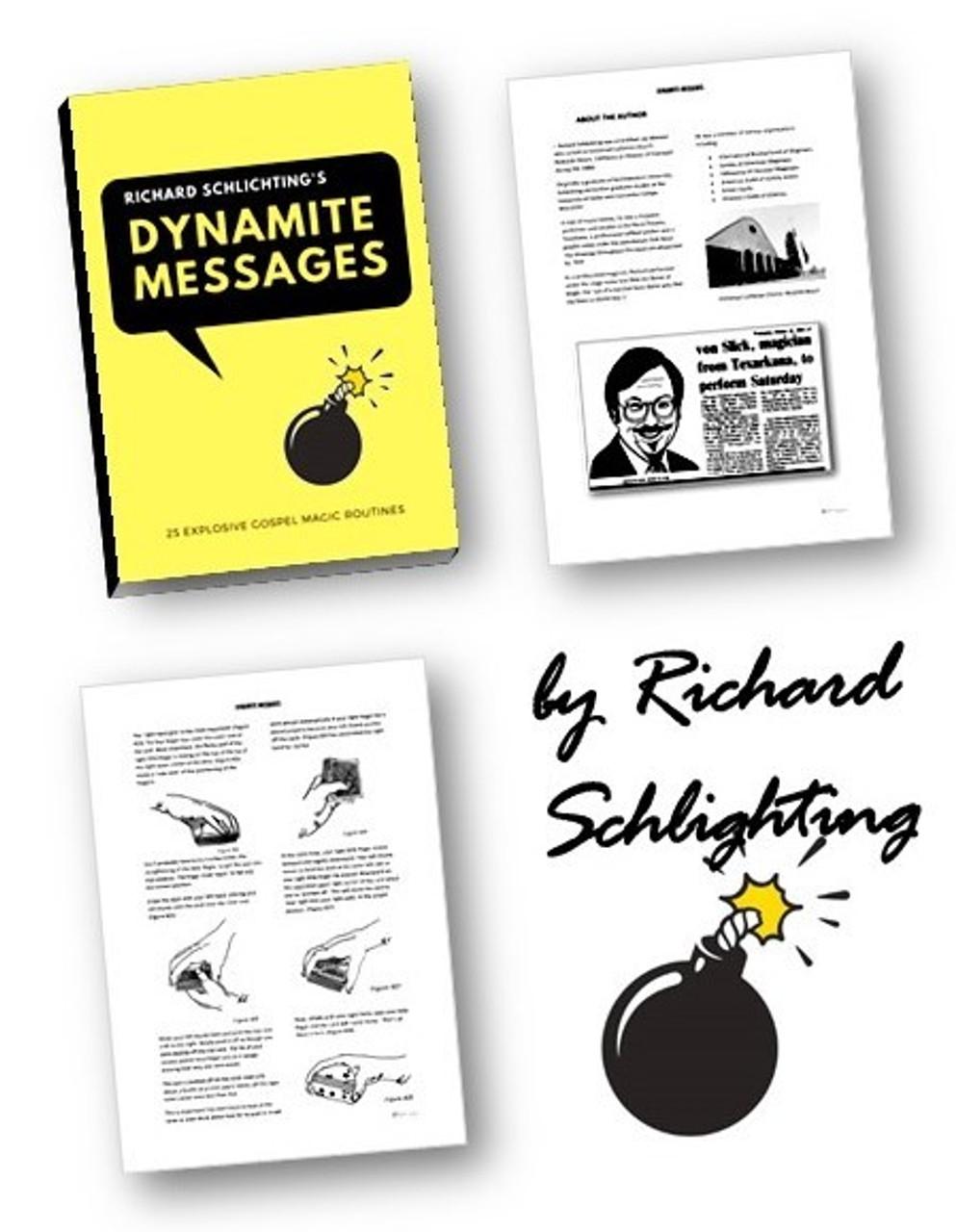 J Richard Schlichting eBook Dynamite Messages Gospel Magic Tricks