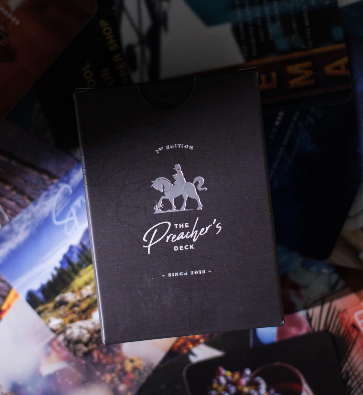 Preacher's Deck Gospel Card Magic by Rosen Roy