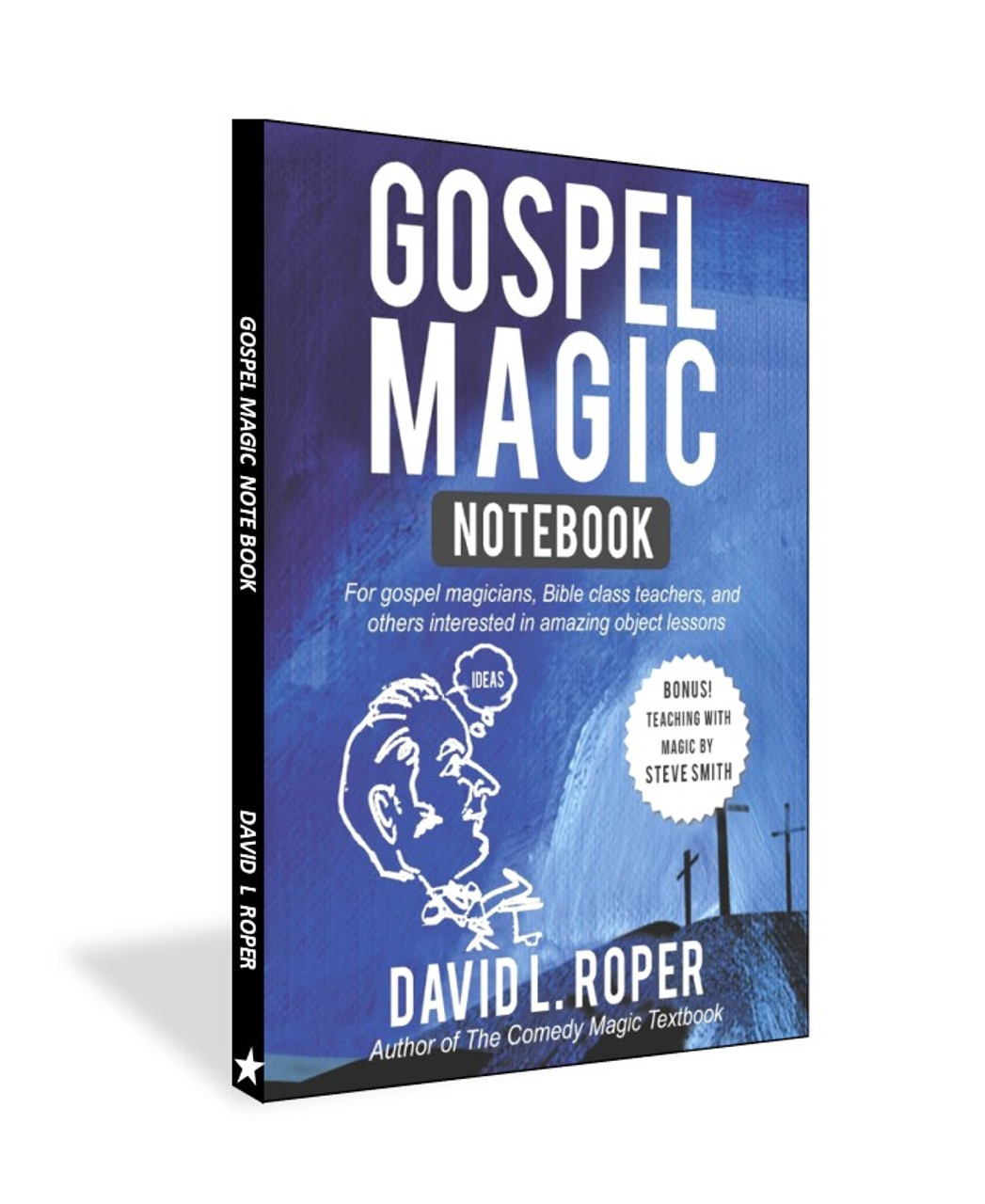 David L Roper Gospel Magic Note Book Object Lessons Tricks Children