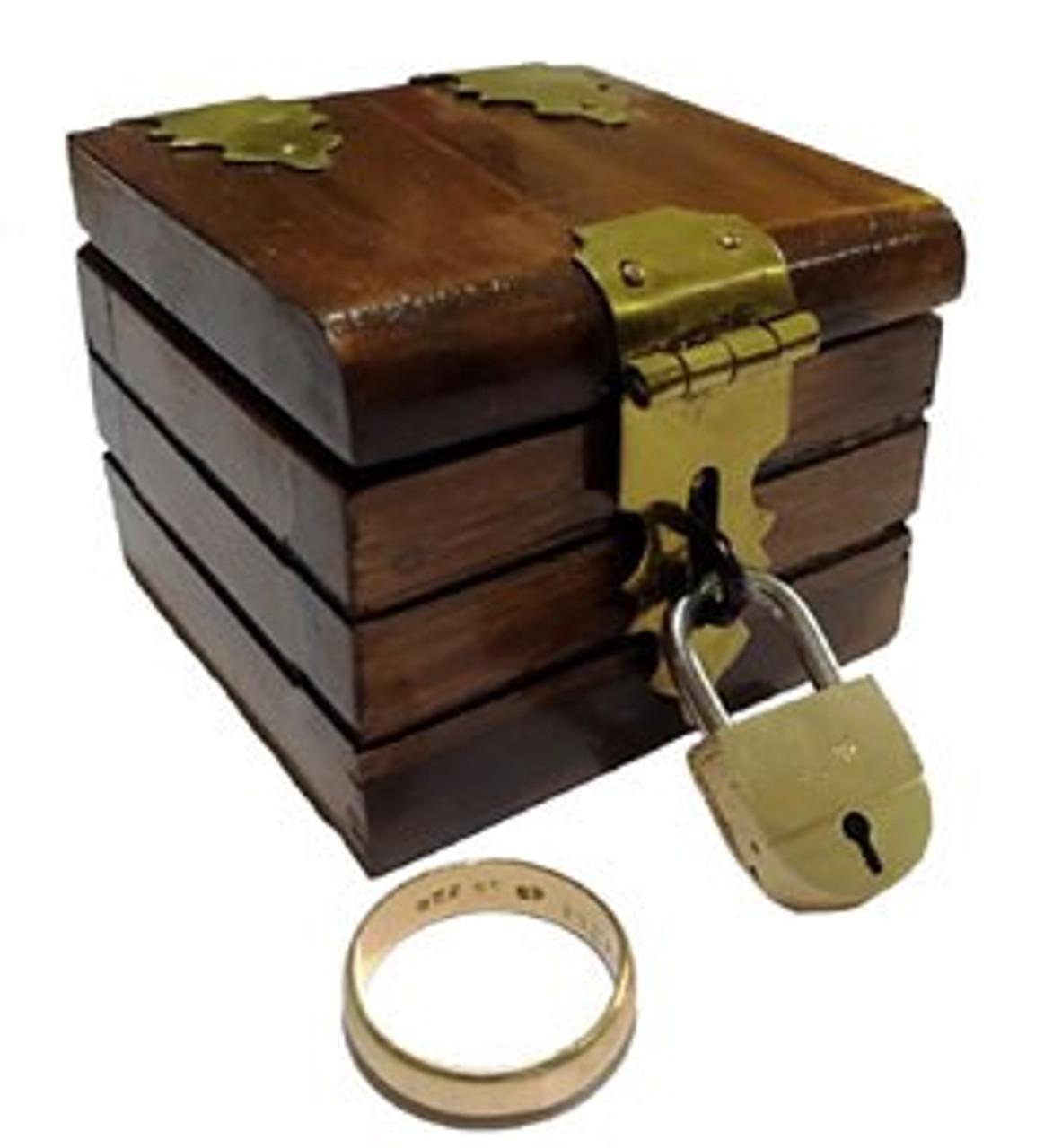 Coin Ring Box Vanish Magic Trick
