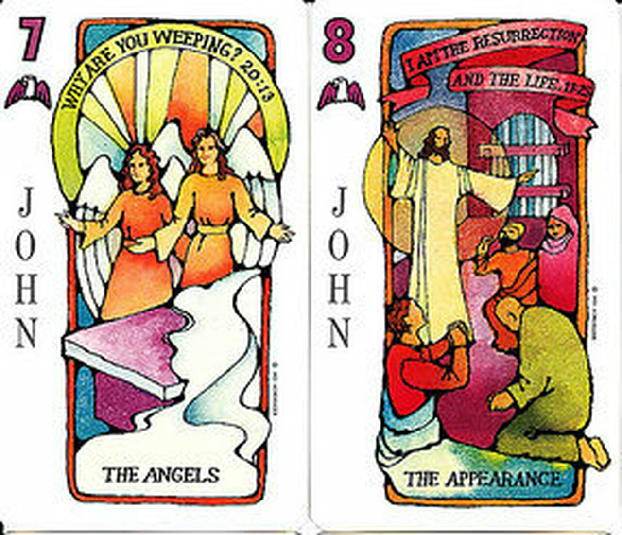 Jesus Deck Bible Gospel Playing Cards