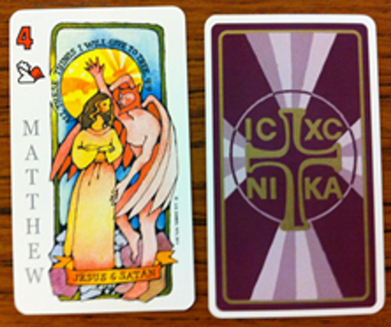 Jesus Deck - Cards that beautifully illustrate Jesus' Life - use for meditation, teaching or evangelism!
