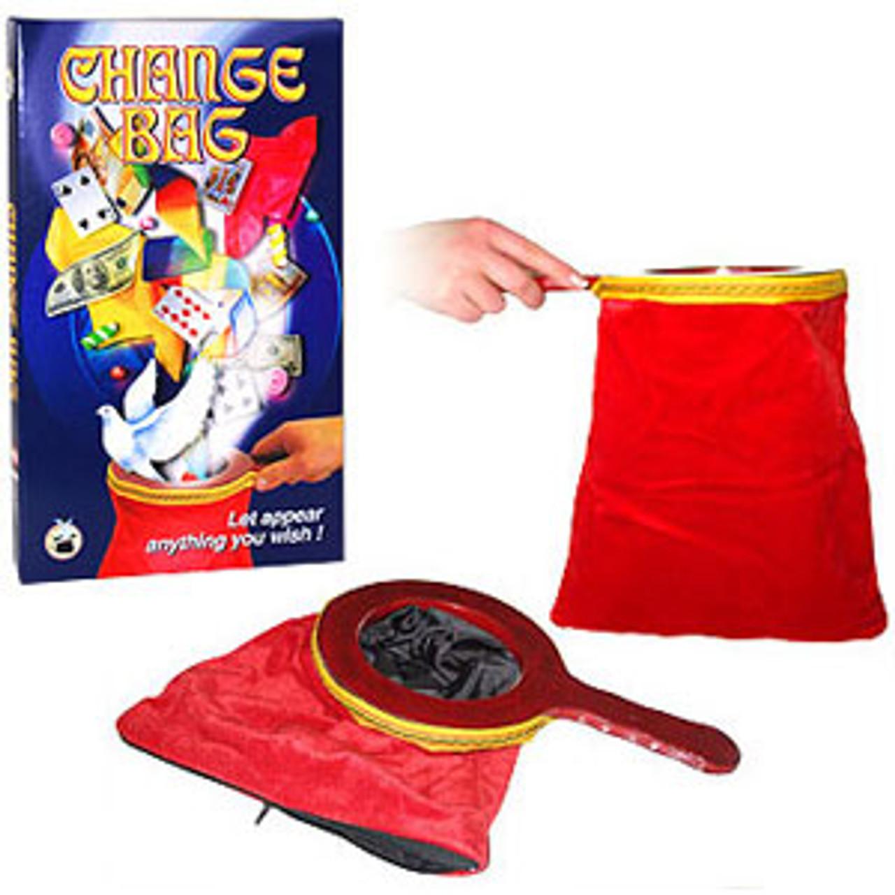 Red Zipper Pro Change Bag Magic Trick Gospel