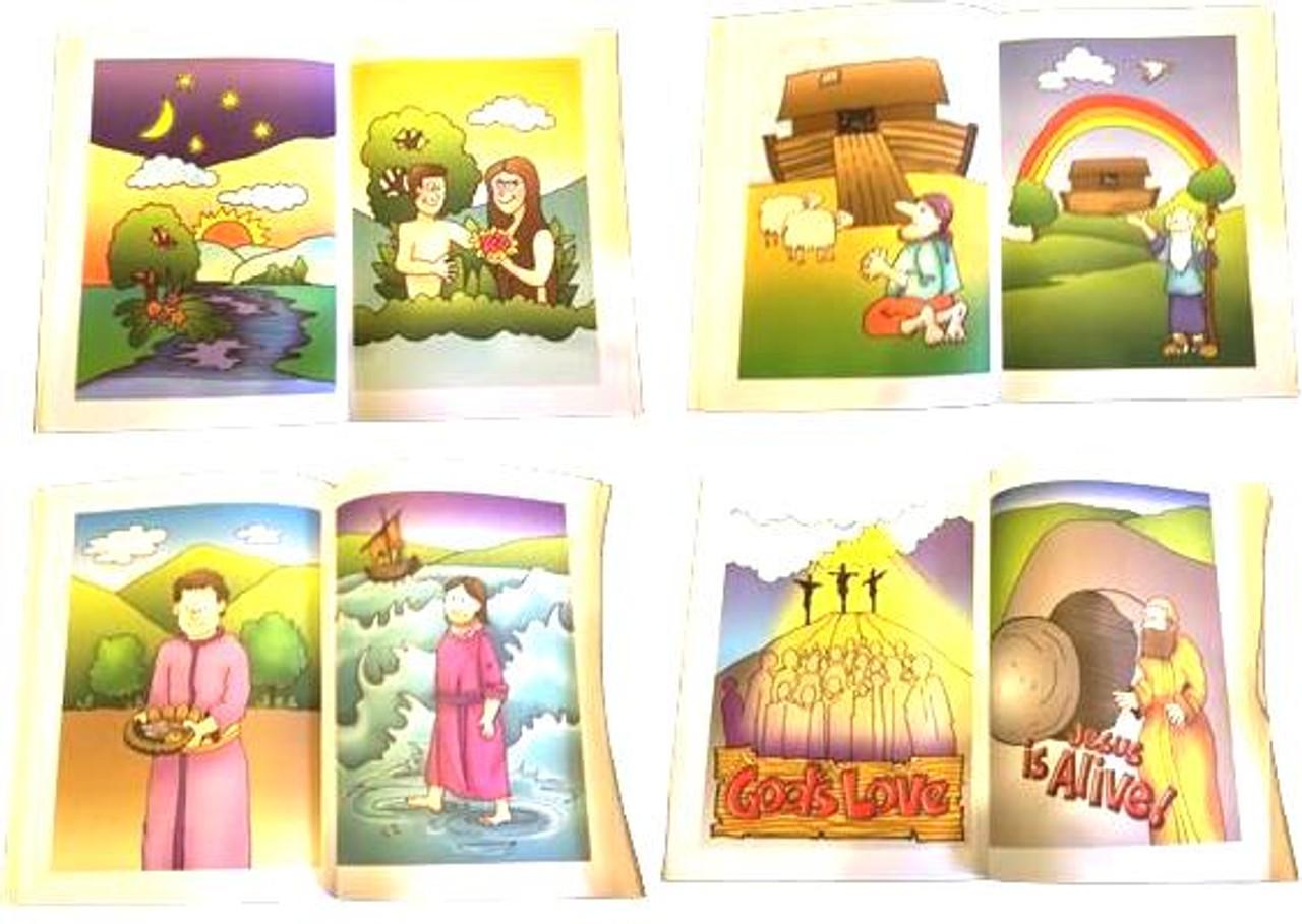 Bible Colouring Book Mission Magic Trick Gospel