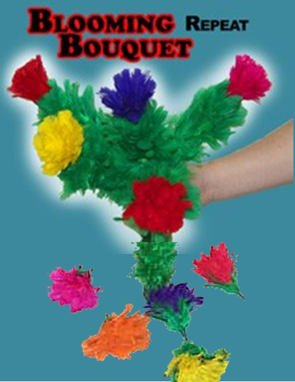 5 flower Repeat Blooming Bouquet Magic Trick