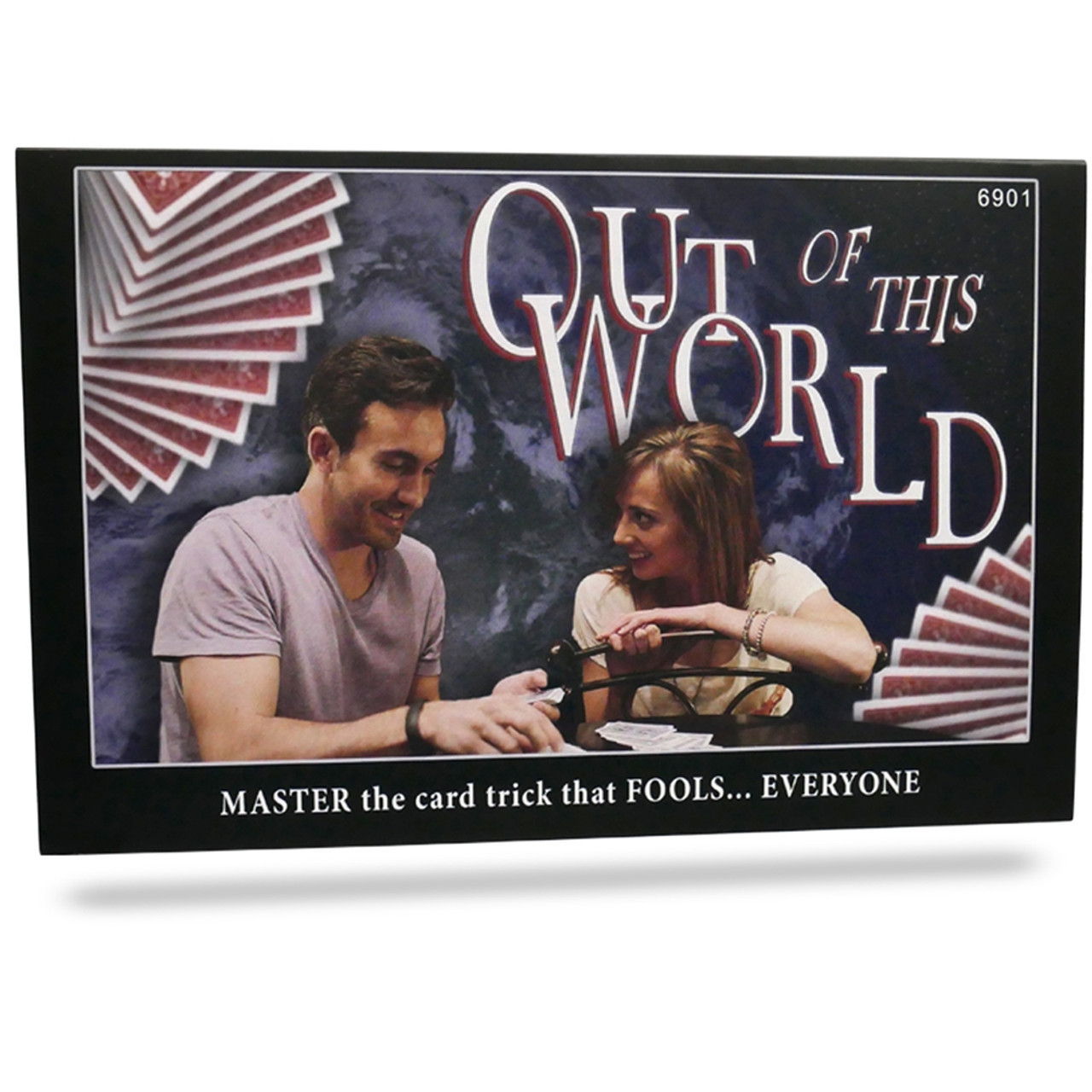 Out of this world magic trick card