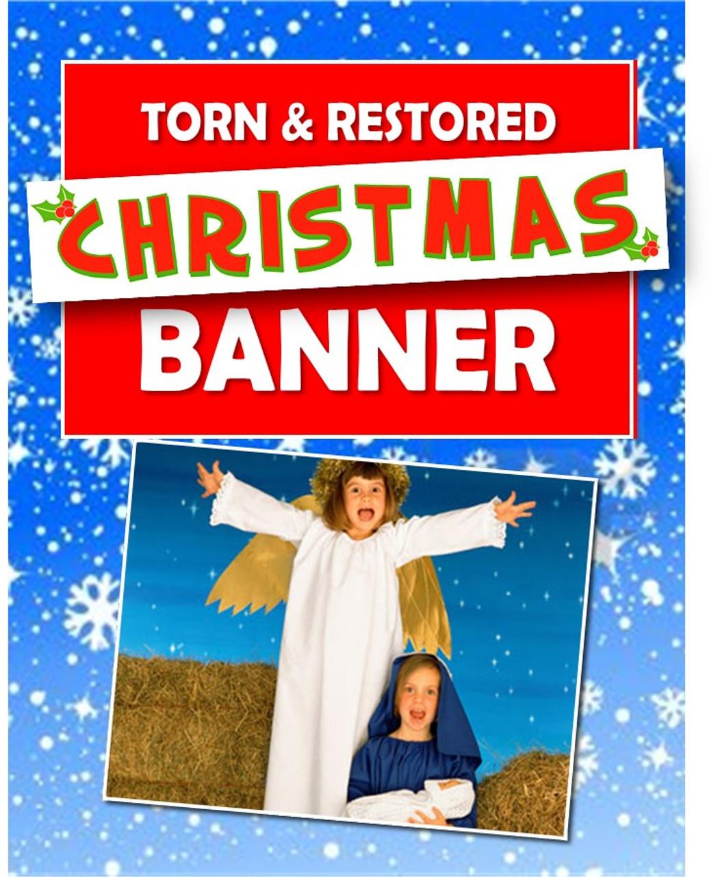 Torn & Restored Christmas Banner Gospel Magic Trick