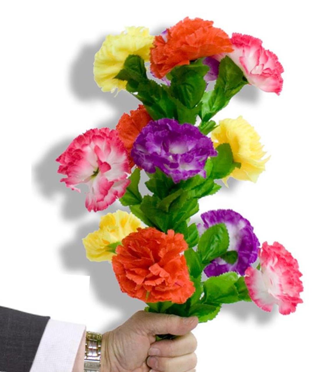 Cloth Flowers Bouquet Magic Trick