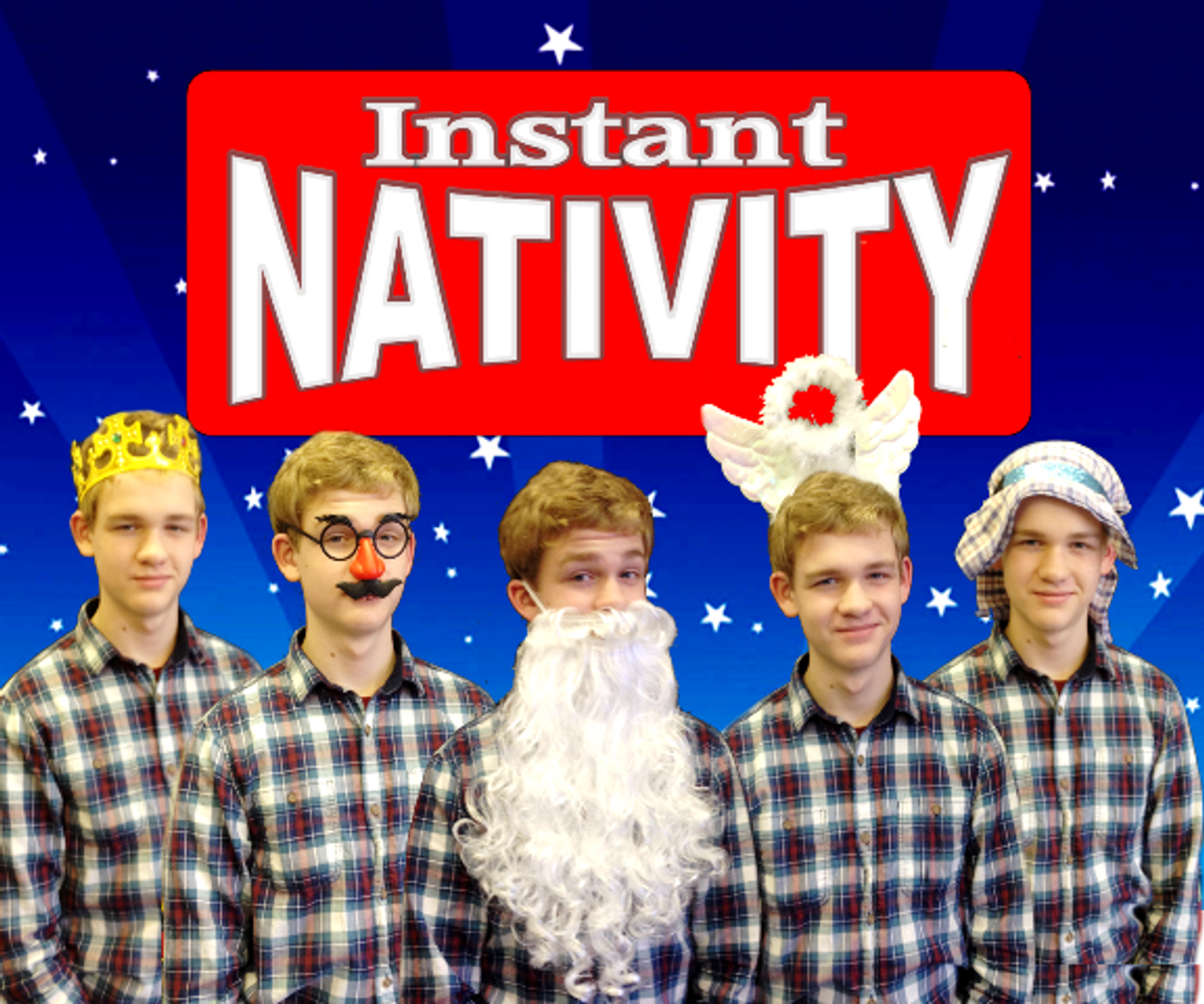 Instant Nativity Play Magic Trick