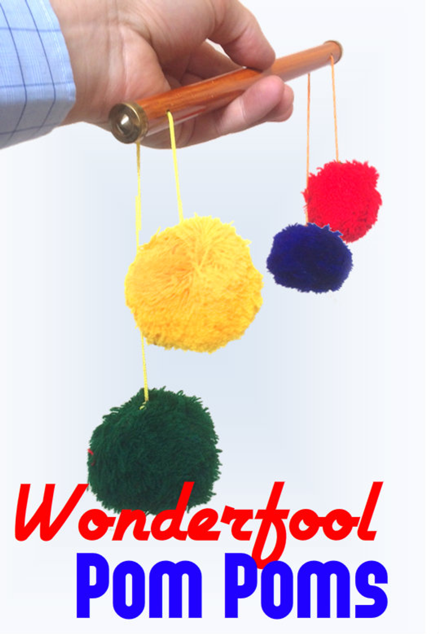 Pom Pom Pole Stick Magic Trick