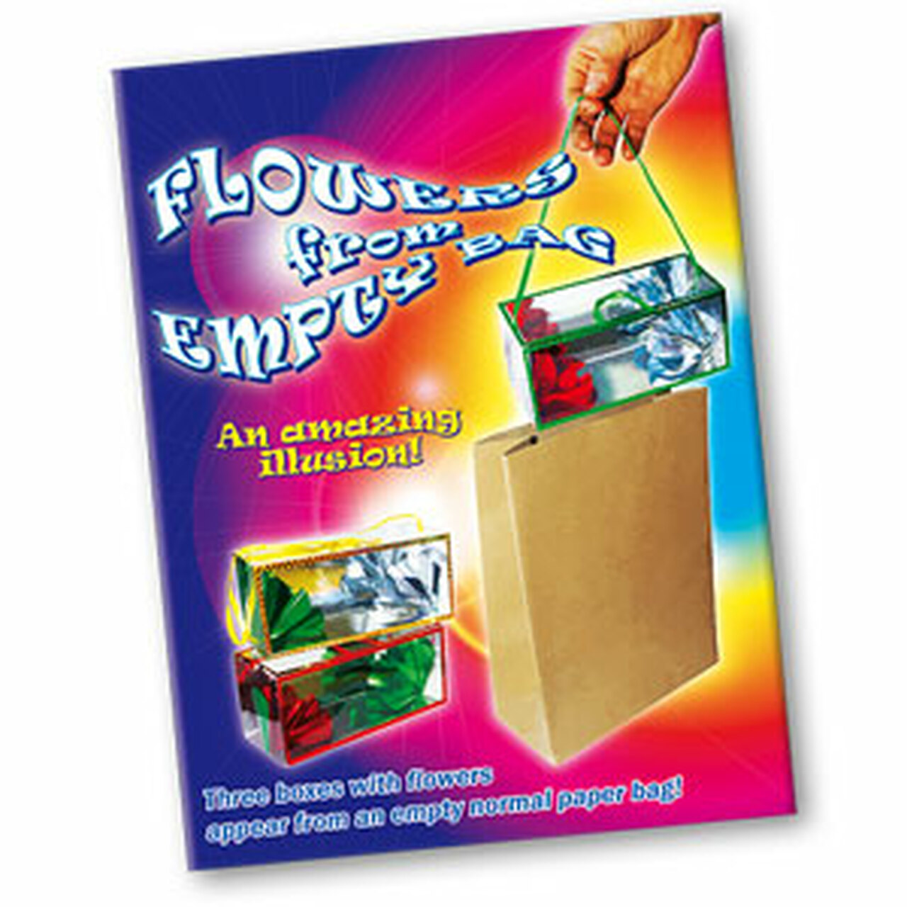 Appearing Flower Boxes Dream Bag Magic Trick