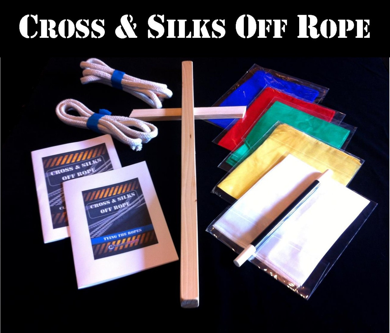 Best Seller - Cross & Silk off Rope - THE most powerful illustration of the Gospel.