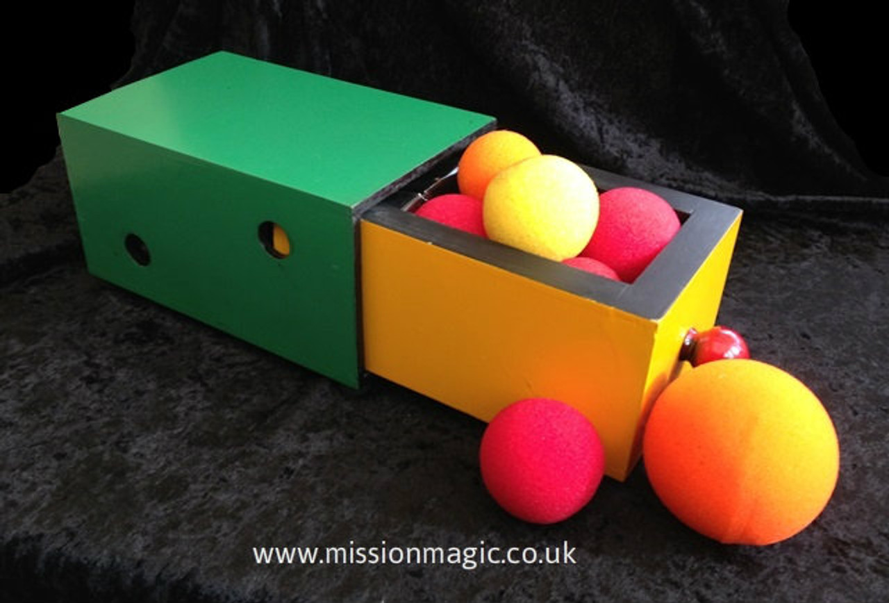 Wooden Drawer Box www.missionmagic.co.uk