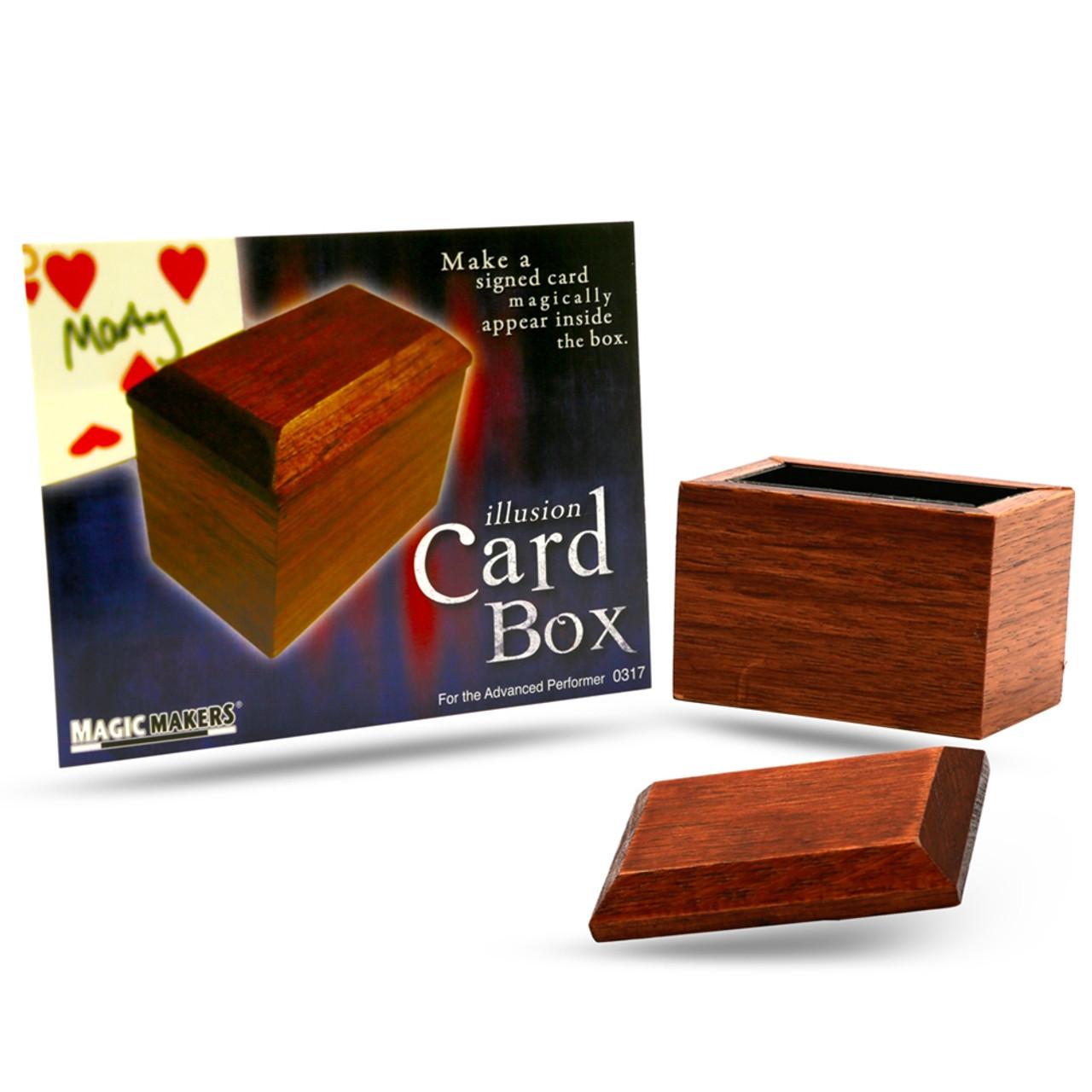 Illusion Card Box Magic Trick Magic Makers
