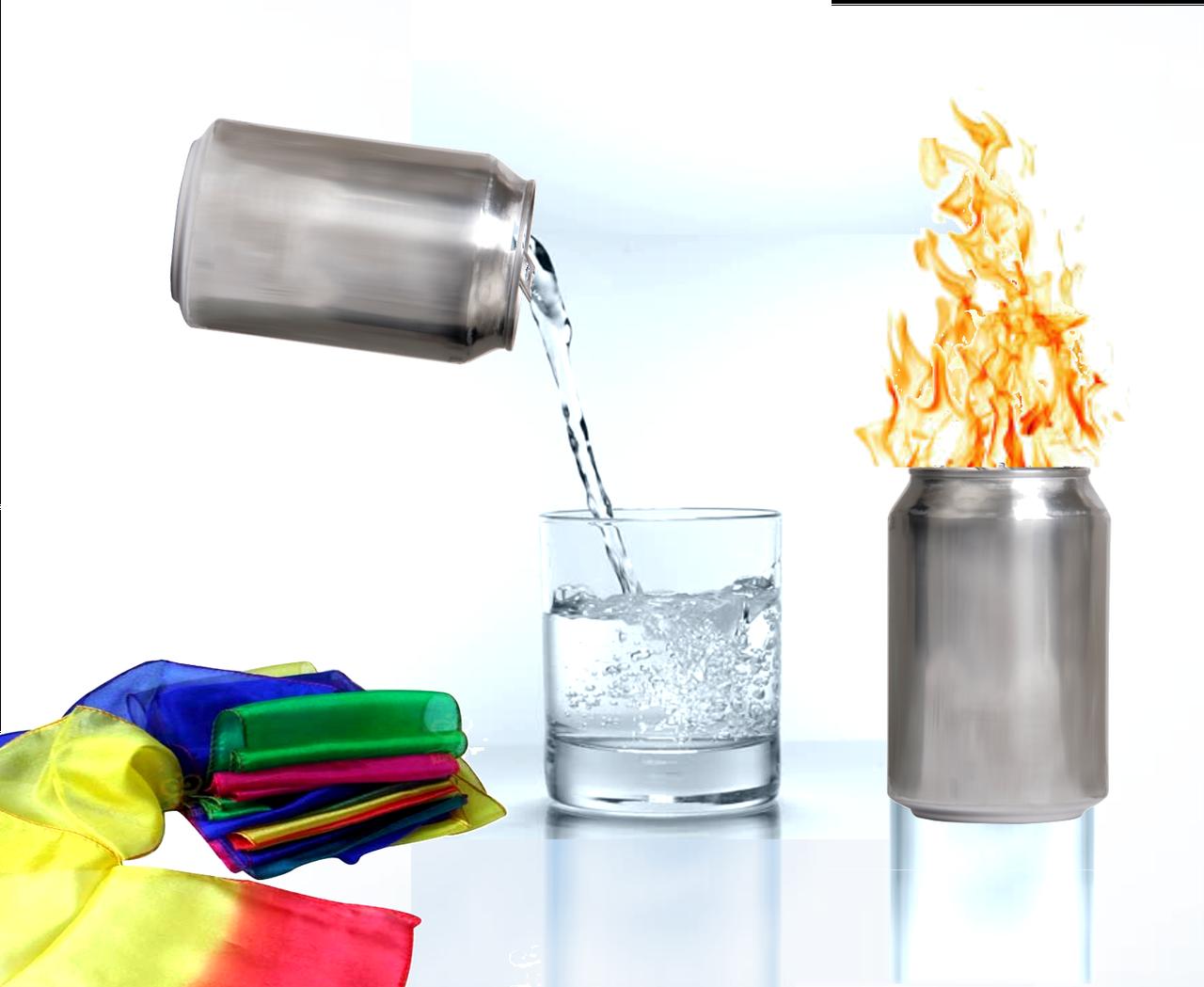 Holy Spirit Fire Can Brass DiFatta Magic Trick Gospel Liquid