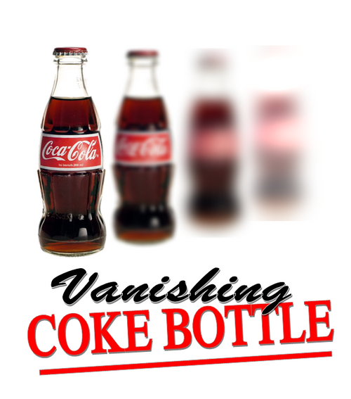 Vanishing Appearing Coke Bottle Latex