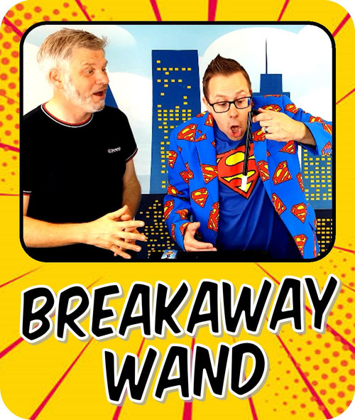 Breakaway magic wand trick funny comedy gospel