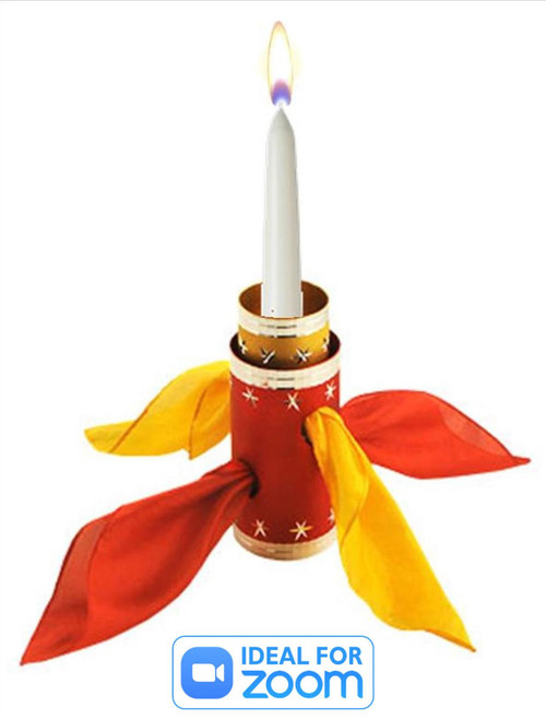 DiFatta Candle Thru Silk Gospel Magic Trick