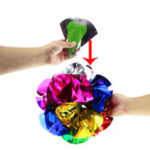 Growing Mylar Spring Flowers Bouquet Trick Magic Gospel