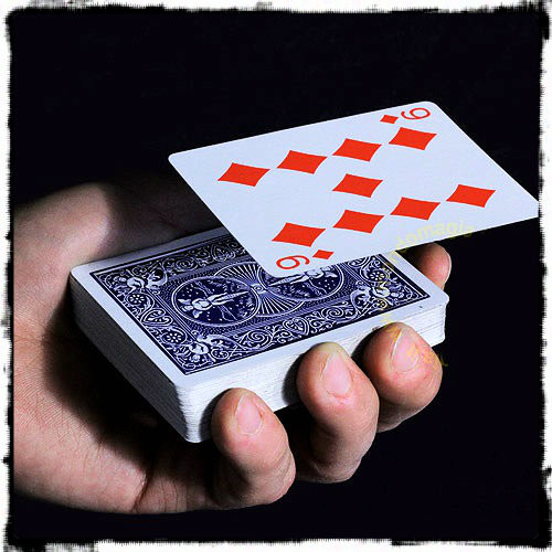 Card Float Difatta Levitation Deck Magic Trick