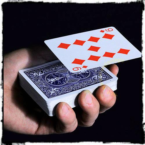 Card Float Difatta Levitation Deck Magic Trick