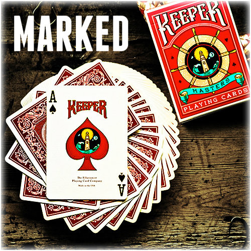Keeper Deck Ellusionist Card Magic Trick Gospel