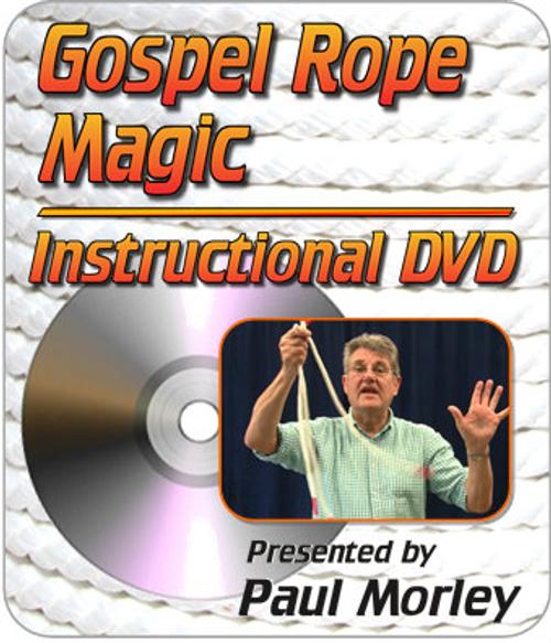 Gospel Rope Magic DVD Paul Morley Trick