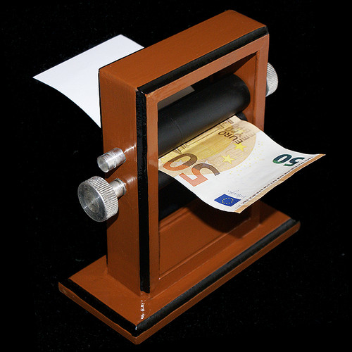 Stage Size Money Maker Printer DiFatta Magic Trick