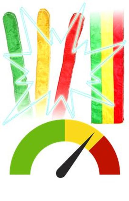 Sitta Tricolor Striped Magic Trick Gospel Trinity