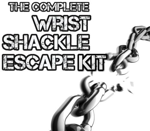 Magic Trick Gospel Shackles Handcuffs Escape