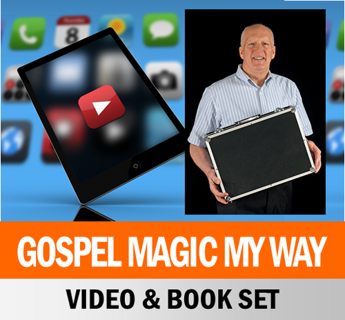 Scott Devers Video & Book Set Gospel Magic x20 Tricks