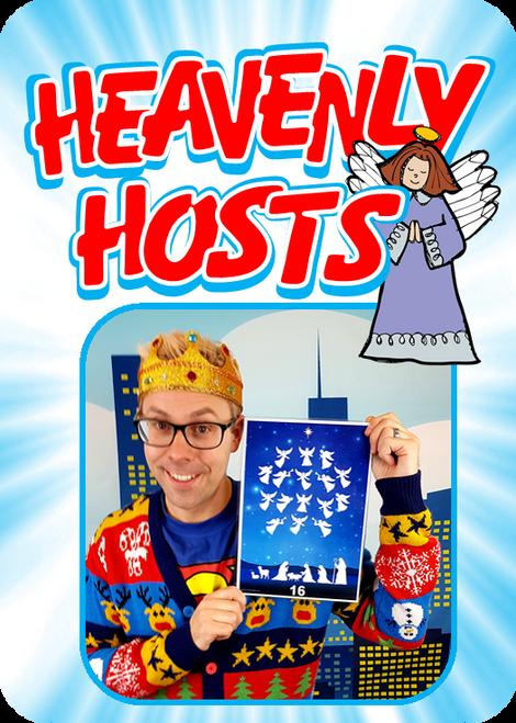 Heavenly Hosts Gospel Magic Christmas Trick Resource
