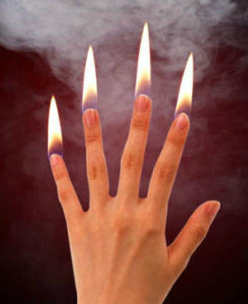 Finger Flames Fire Gospel Magic Trick DiFatta Christmas Advent