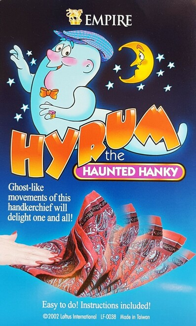 Hyrum the Haunted Hanky Magic Trick Gospel